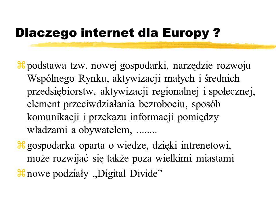 Dlaczego internet dla Europy . zpodstawa tzw.
