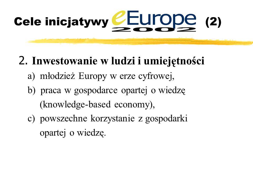Cele inicjatywy (2) 2.