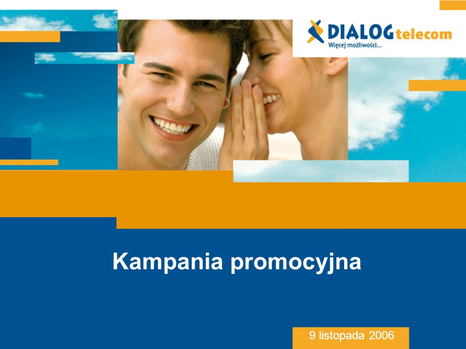 Kampania promocyjna 9 listopada 2006