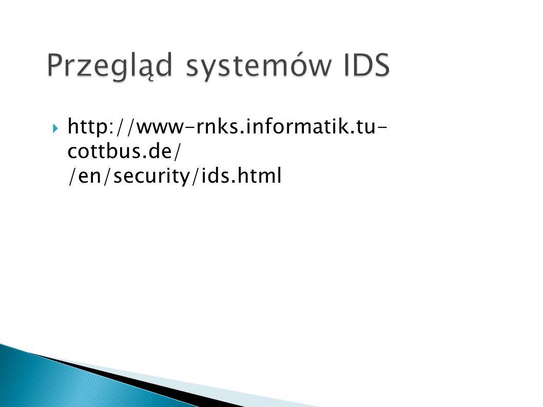 http://www-rnks.informatik.tu- cottbus.de/ /en/security/ids.html