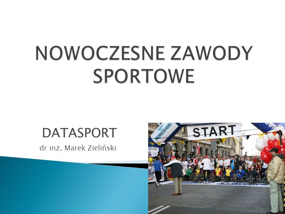 dr inż. Marek Zieliński DATASPORT