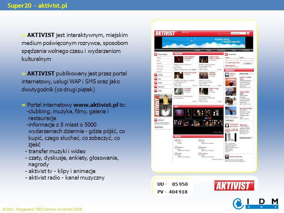 » AKTIVIST jest interaktywnym, miejskim medium poświęconym rozrywce, sposobom spędzania wolnego czasu i wydarzeniom kulturalnym » AKTIVIST publikowany