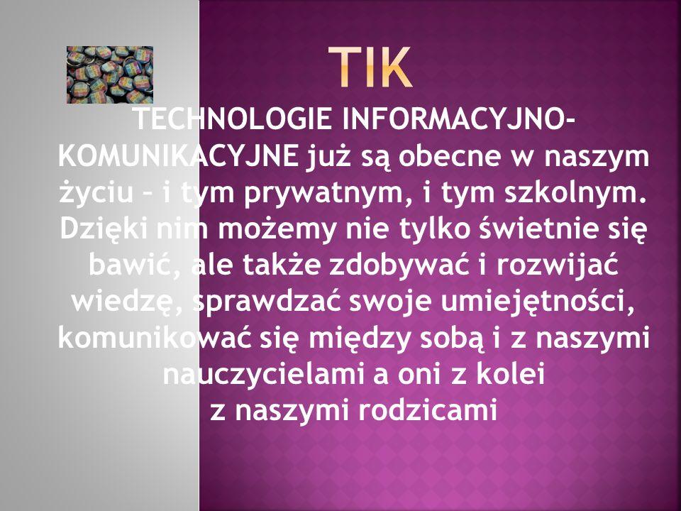 Propozycje do kodeksu 2.0 klasy IV 1.Wykorzystujemy TIK na każdych zajęciach lekcyjnych, pozalekcyjnych oraz w domu.