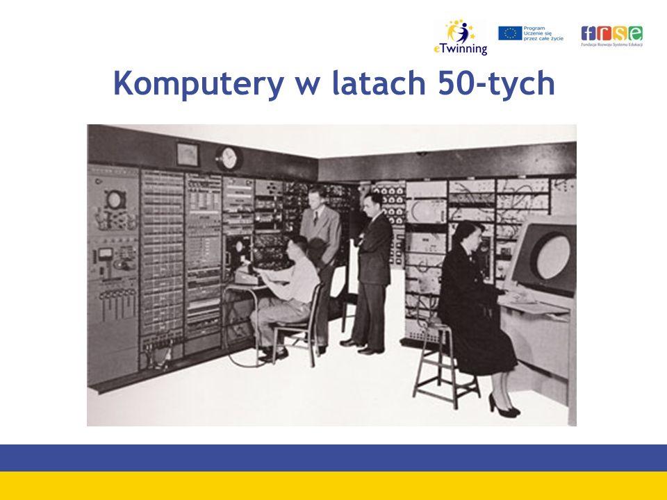 Komputery w latach 50-tych