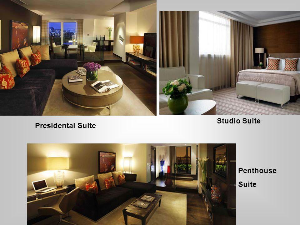 Presidental Suite Studio Suite Penthouse Suite