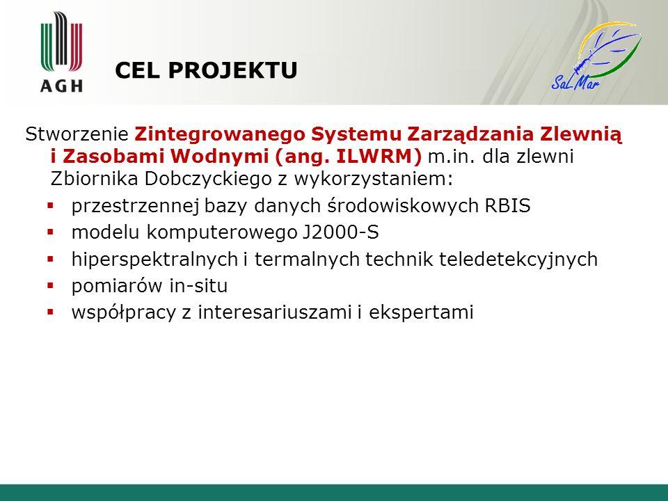 CEL PROJEKTU Stworzenie Zintegrowanego Systemu Zarządzania Zlewnią i Zasobami Wodnymi (ang.