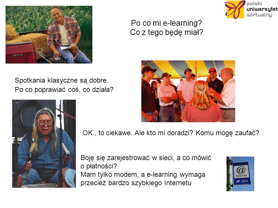 ? e - learning nauczanie prądem