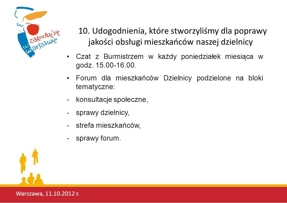 Warszawa, 11.10.2012 r.10.
