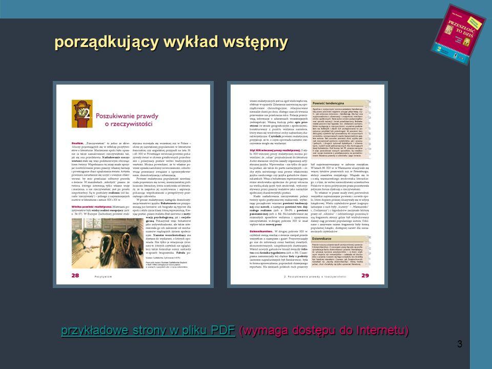3 porządkujący wykład wstępny przykładowe strony w pliku PDFprzykładowe strony w pliku PDF (wymaga dostępu do Internetu) przykładowe strony w pliku PDF