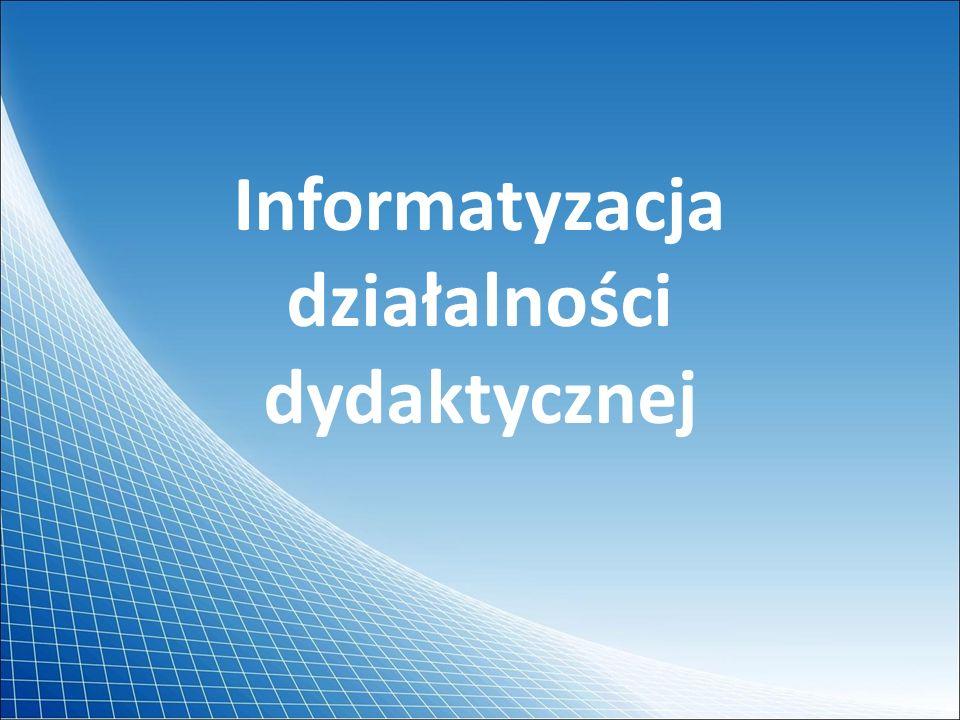 Liczba projektorów multimedialnych w poszczególnych typach szkół Trzy szkoły tyskie nie są wyposażone w projektory multimedialne (w tym 2 szkoły podstawowe i 1 gimnazjum) Dane z Systemu Informacji Oświatowej na dzień 30 wrzesień 2008 r.