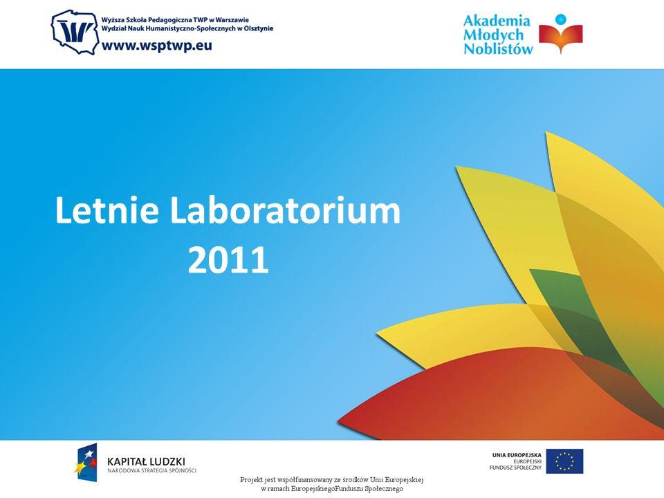 Letnie Laboratorium 2011