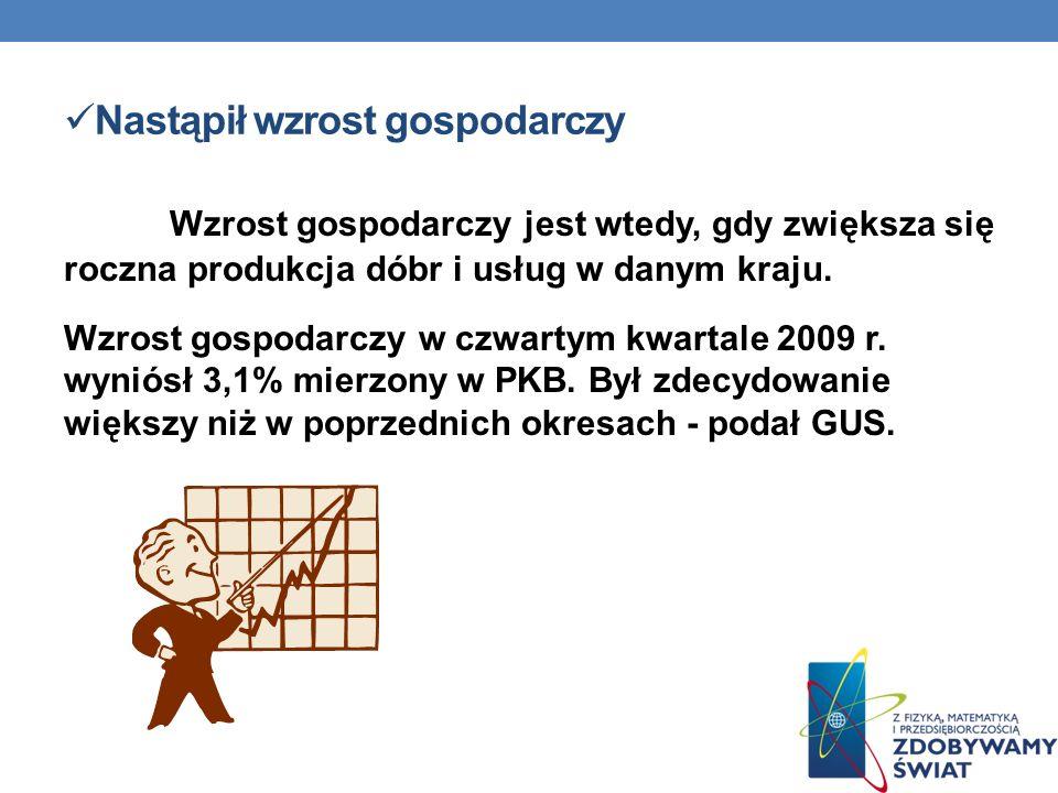 Rozwijamy się szybciej niż większość państw europejskich Dane o polskiej gospodarce wyprzedzają nawet prognozy analityków.