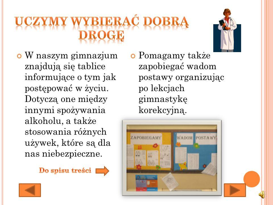 W szkole posiadamy nowoczesne pracownie internetowe dzięki, którym uczniowie mogą nauczyć się poprawnie korzystać z internetu.
