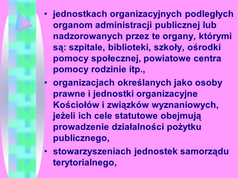JAKO WOLONTARIUSZ MOŻESZ PRACOWAĆ W : organizacjach pozarządowych ( stowarzyszenie, fundacja, partia polityczna, związek zawodowy, organizacja pracodawców, samorząd zawodowy ), organach administracji publicznej ( ministerstwa, urzędy wojewódzkie, urzędy miejskie, gminne itp.