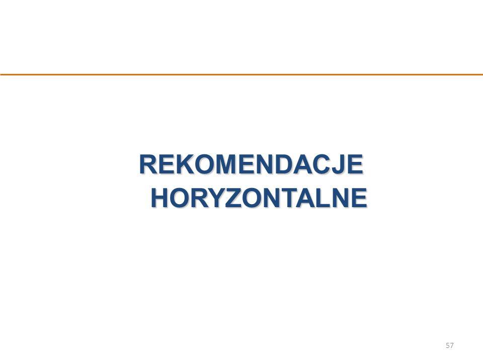 REKOMENDACJE HORYZONTALNE 57