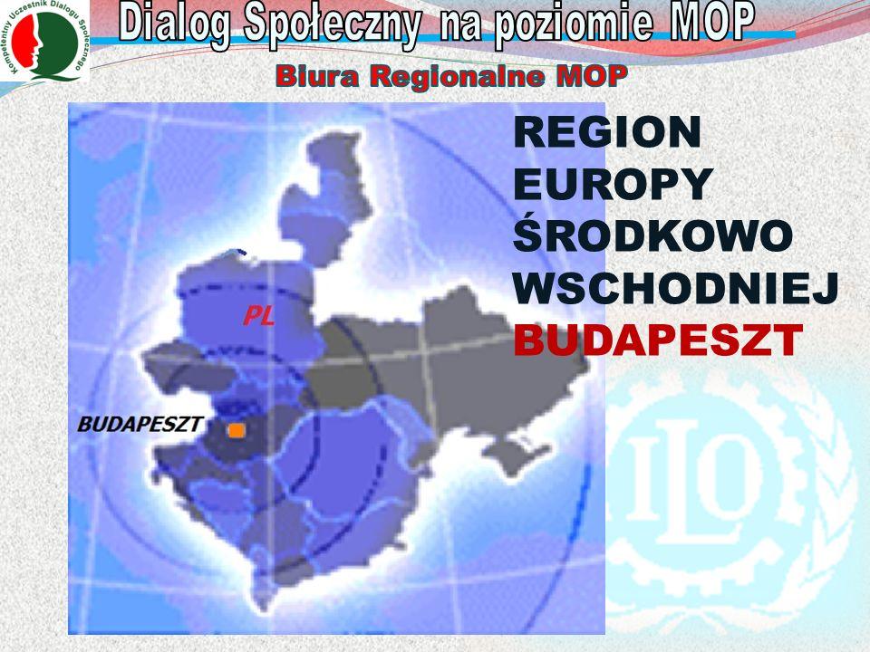 REGION EUROPY ŚRODKOWO WSCHODNIEJ BUDAPESZT