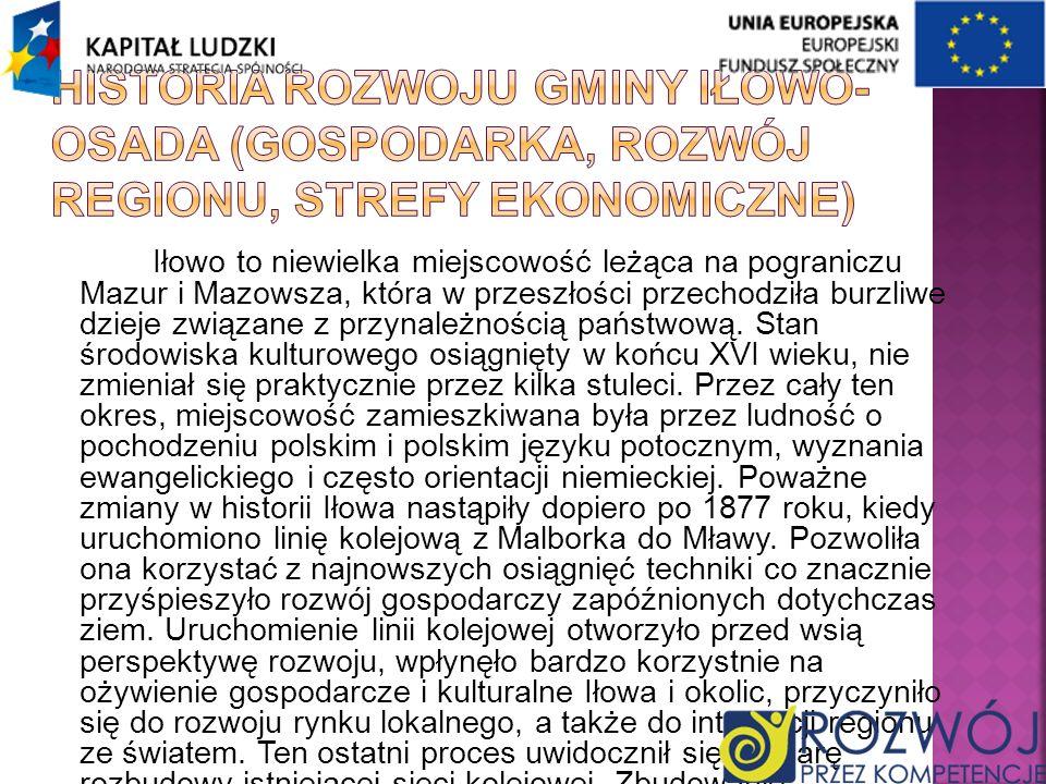Iłowo to niewielka miejscowość leżąca na pograniczu Mazur i Mazowsza, która w przeszłości przechodziła burzliwe dzieje związane z przynależnością pańs