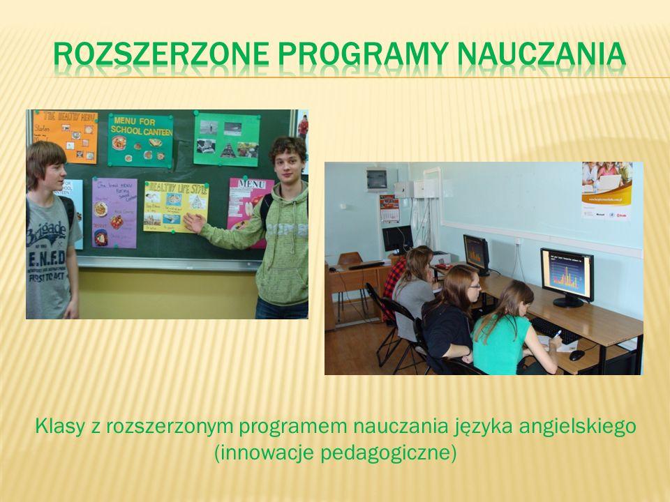 Klasy z rozszerzonym programem nauczania języka angielskiego (innowacje pedagogiczne)