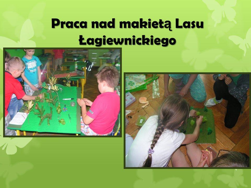 Praca nad makiet ą Lasu Łagiewnickiego