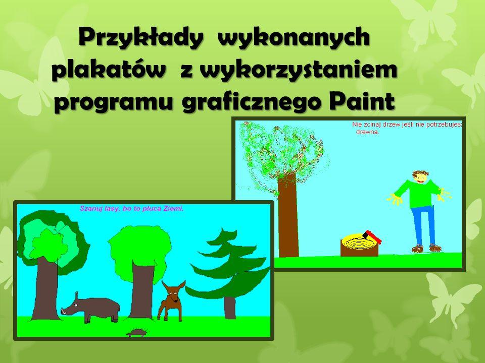 Przykłady kolejnych plakatów