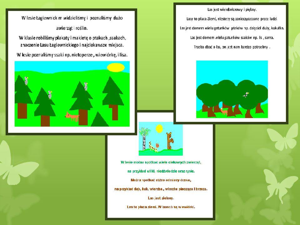 Przedstawienie W zielonym lesie W zielonym lesie