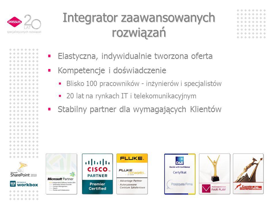 Elastyczna, indywidualnie tworzona oferta Kompetencje i doświadczenie Blisko 100 pracowników - inżynierów i specjalistów 20 lat na rynkach IT i teleko