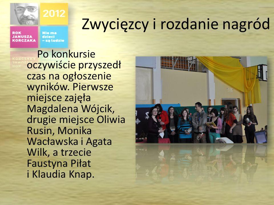 Drugi etap konkursu Drugi etap konkursu polegał na rozwiązaniu przygotowanej przez organizatorów krzyżówki. Wzięło w nim udział 24 uczestników. W tym
