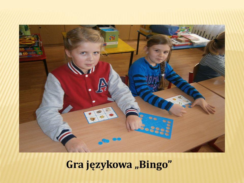 Gra językowa Bingo