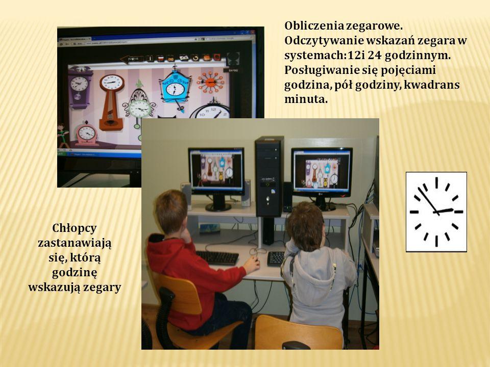Ćwiczenia z programem Mówiące obrazki