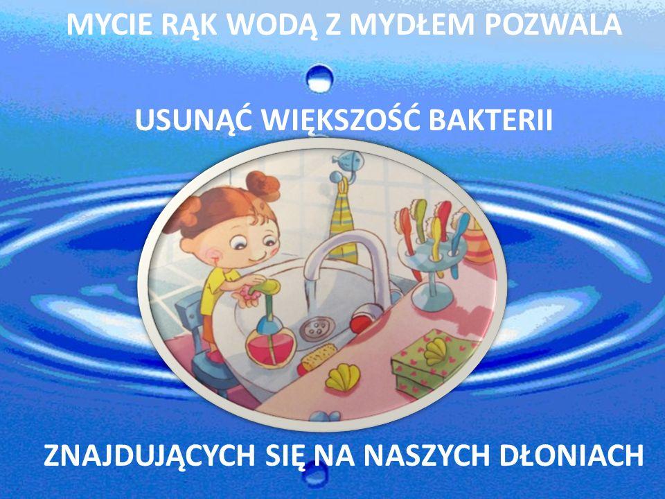 Kiedy należy myć ręce? przed każdym posiłkiem