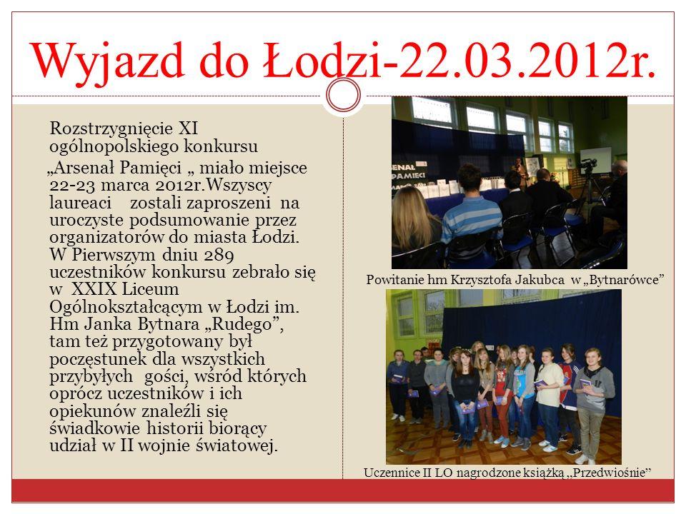 Gość specjalny Harcmistrz Aleksander Główka Uroczystość rozpoczął główny organizator konkursu hm Krzysztof Jakubiec, który powitał wszystkich przybyłych.