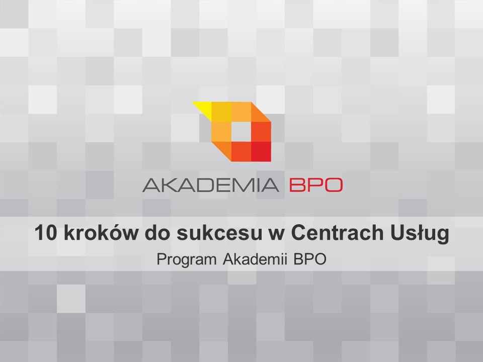 Kompletne przygotowanie do pracy w BPO/SSC 10 kroków do sukcesu w BPO Co muszę wiedzieć o sektorze BPO/SSC.