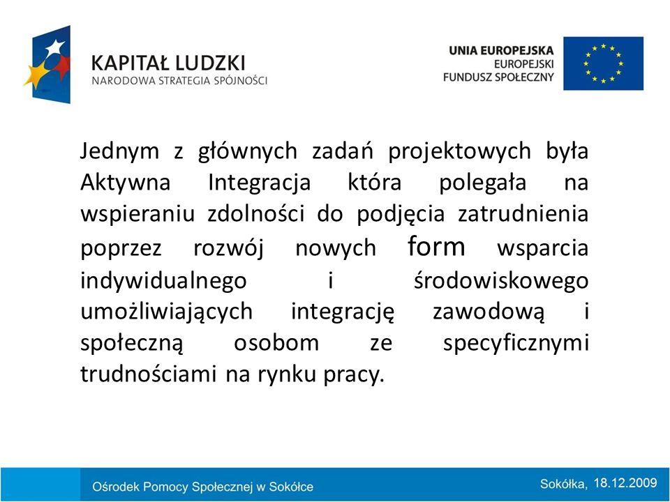 W okresie od 01 do 22 października 2009 roku zorganizowano kurs Nowoczesny sprzedawca.