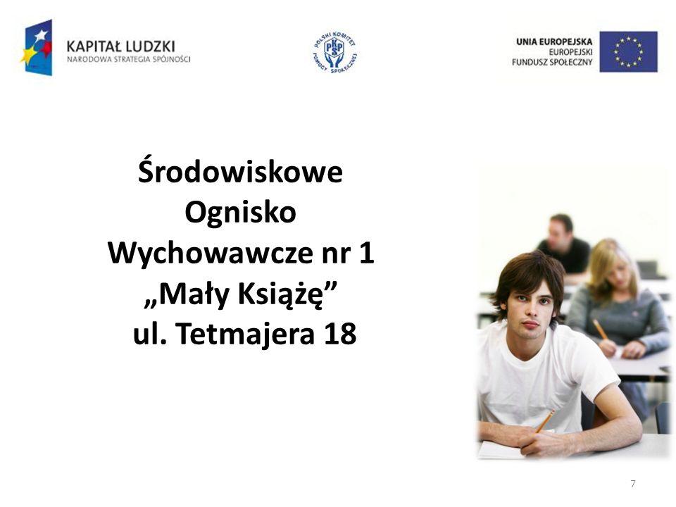 7 Środowiskowe Ognisko Wychowawcze nr 1 Mały Książę ul. Tetmajera 18