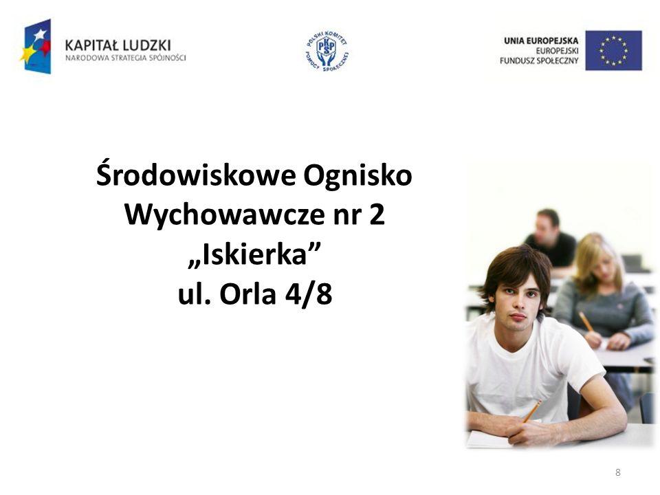 8 Środowiskowe Ognisko Wychowawcze nr 2 Iskierka ul. Orla 4/8