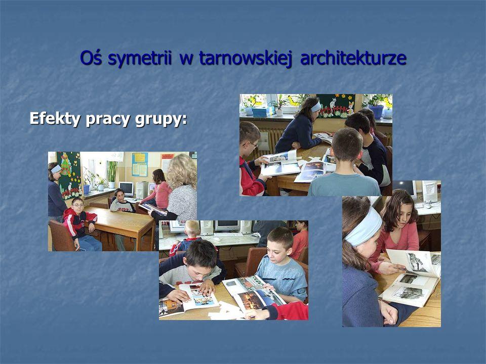 Oś symetrii w tarnowskiej architekturze