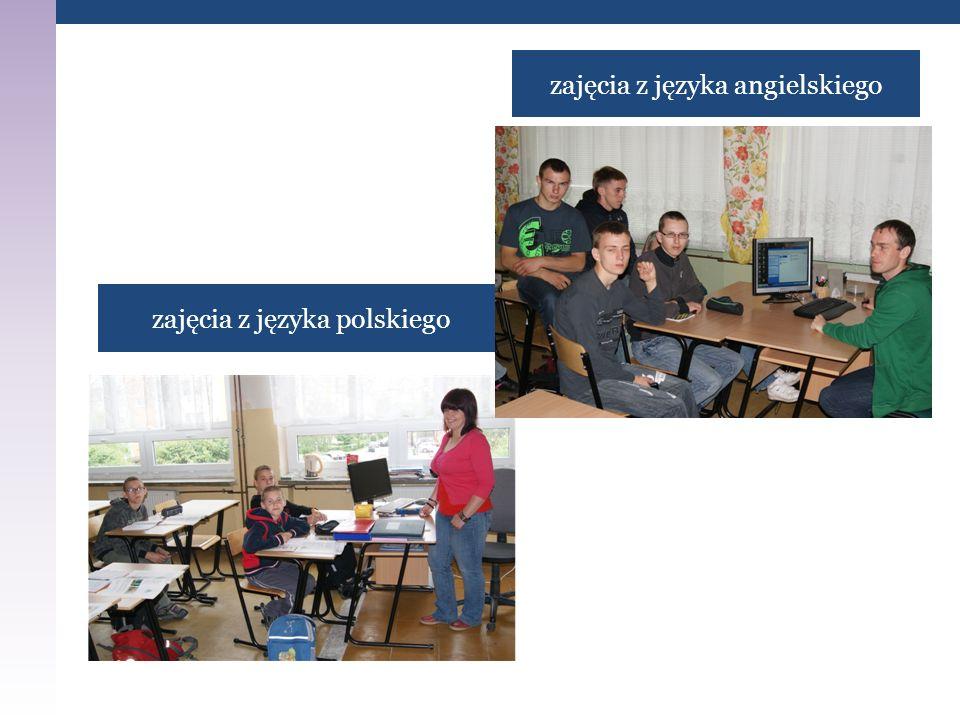 zajęcia z języka polskiego zajęcia z języka angielskiego