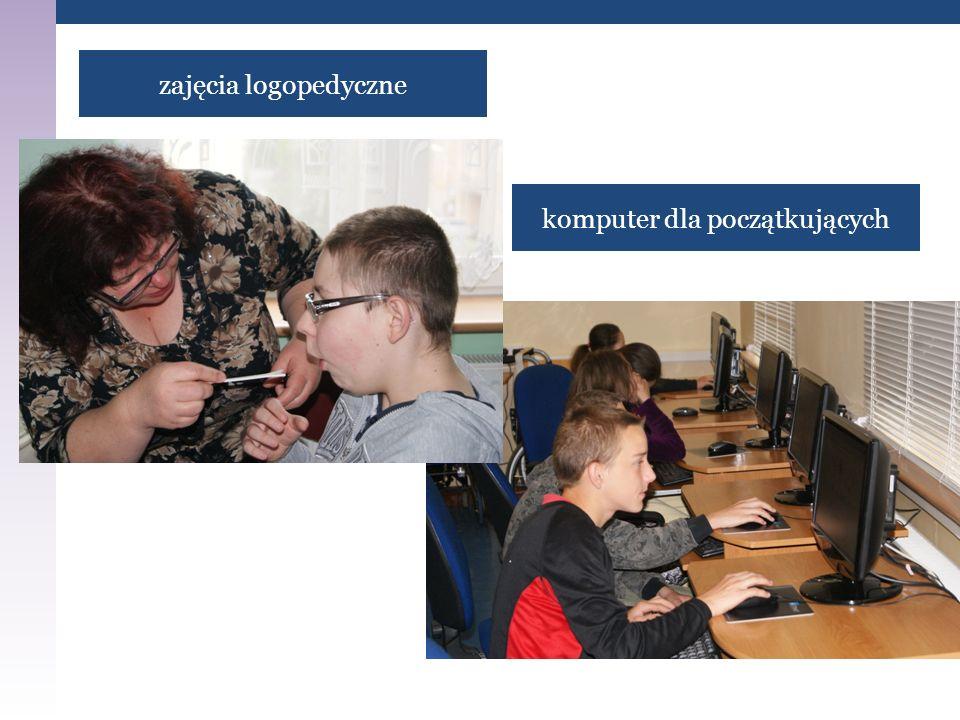zajęcia logopedyczne komputer dla początkujących