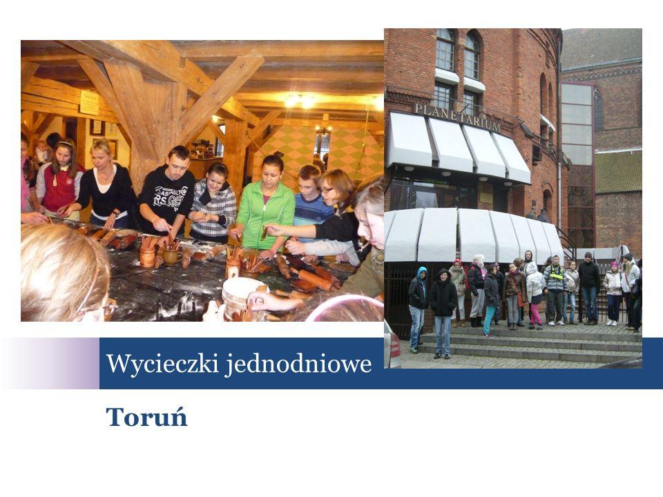 Wycieczki jednodniowe Toruń