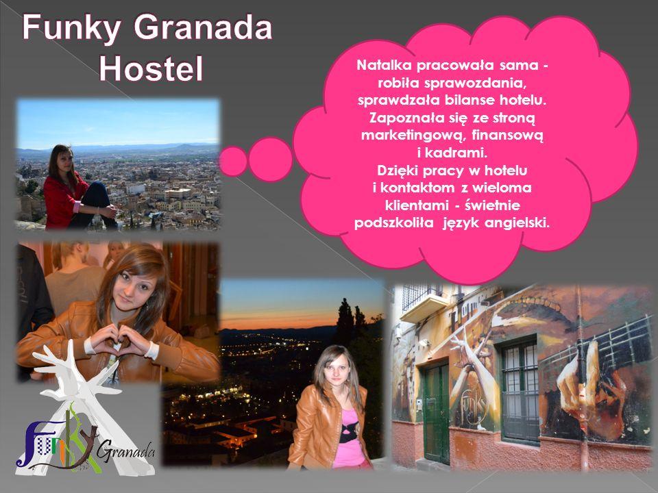 Natalka pracowała sama - robiła sprawozdania, sprawdzała bilanse hotelu. Zapoznała się ze stroną marketingową, finansową i kadrami. Dzięki pracy w hot