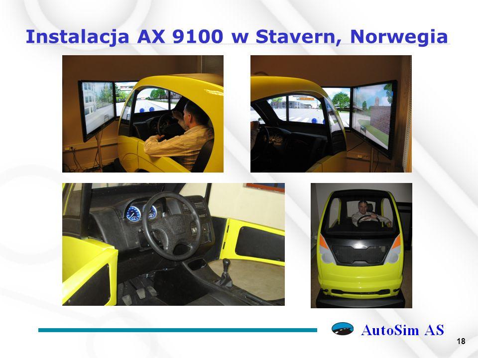 18 Instalacja AX 9100 w Stavern, Norwegia