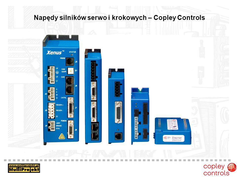 Napędy silników serwo i krokowych – Copley Controls