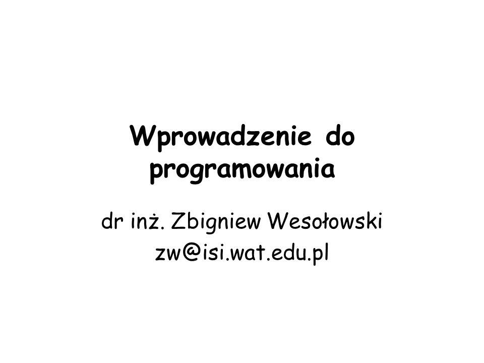 Program w C