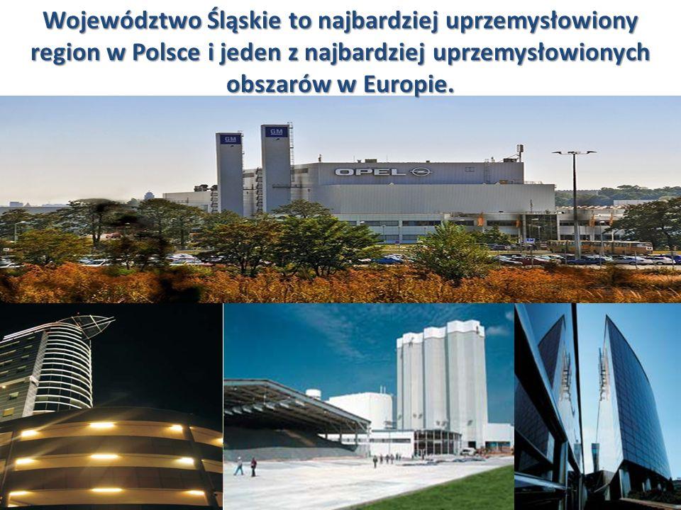GOSPODARKA 6 Województwo Śląskie należy do najsilniejszych gospodarczo regionów Polski.