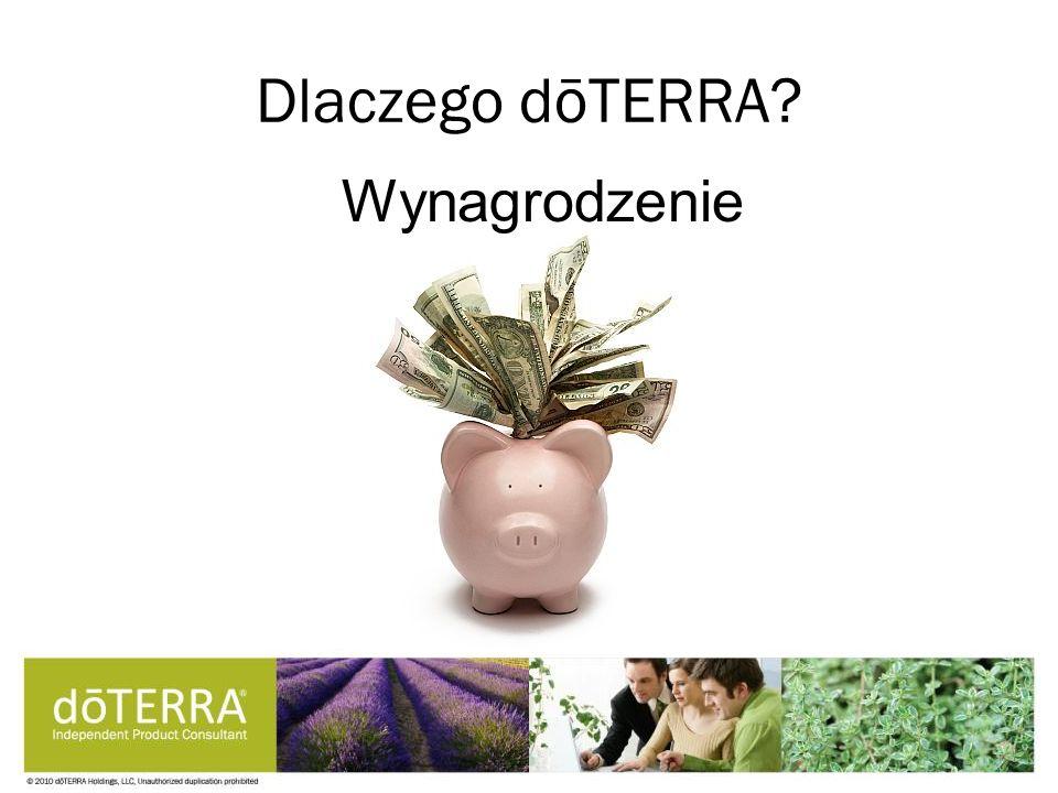 Dlaczego dōTERRA? Wynagrodzenie