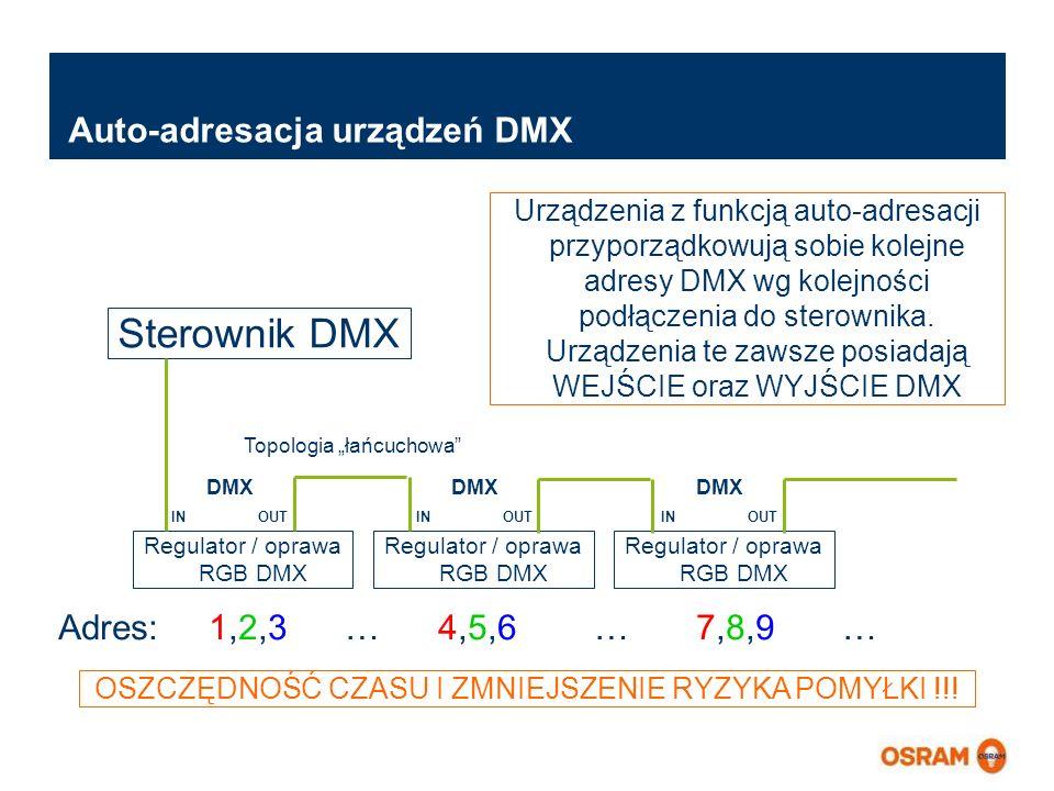 Master Presentation LMS   04.02.2011   Page 12 Master Presentation ENGLISH   Date: 04.02.2011   PL LMS MK Auto-adresacja urządzeń DMX Sterownik DMX Re