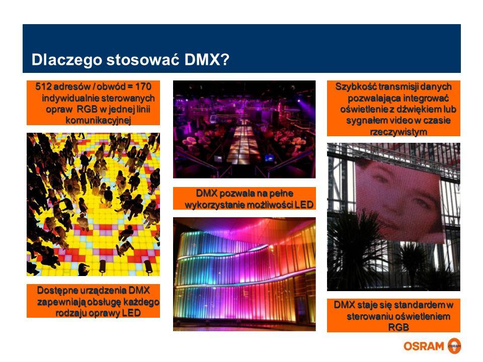 Master Presentation LMS   04.02.2011   Page 6 Master Presentation ENGLISH   Date: 04.02.2011   PL LMS MK Dlaczego stosować DMX? 512 adresów / obwód =
