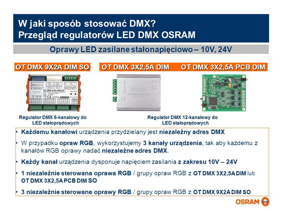 Master Presentation LMS   04.02.2011   Page 10 Master Presentation ENGLISH   Date: 04.02.2011   PL LMS MK W jaki sposób stosować DMX.