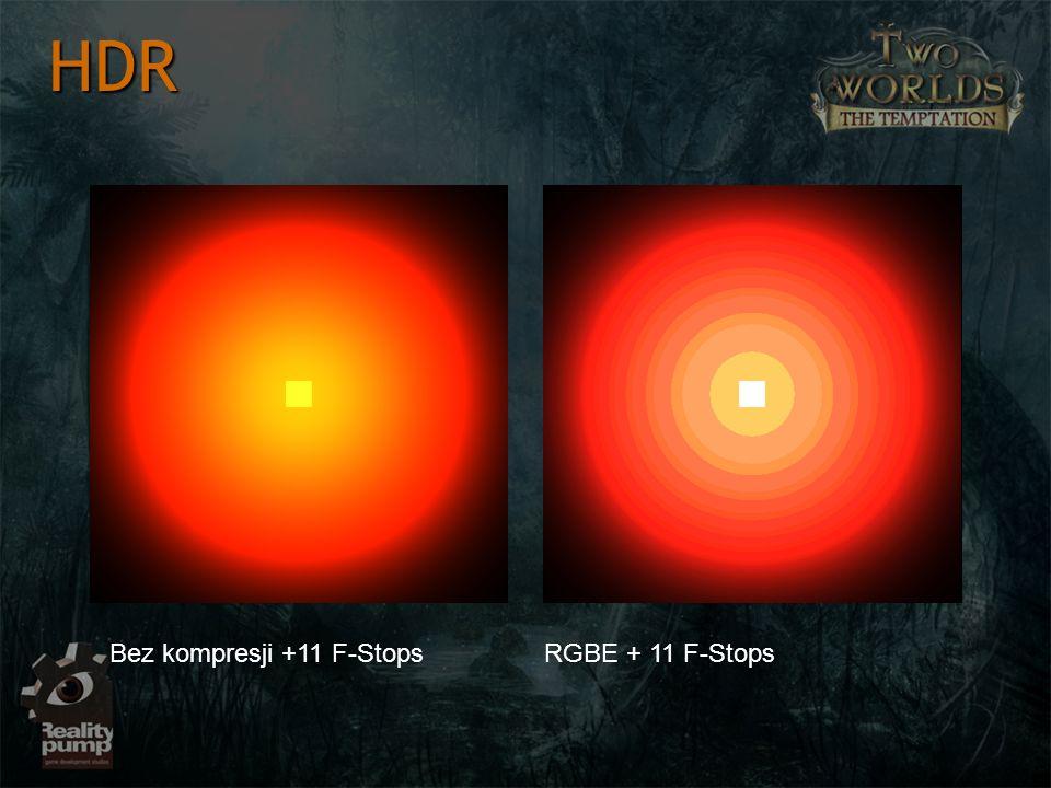 HDR Bez kompresji +11 F-Stops RGBE + 11 F-Stops