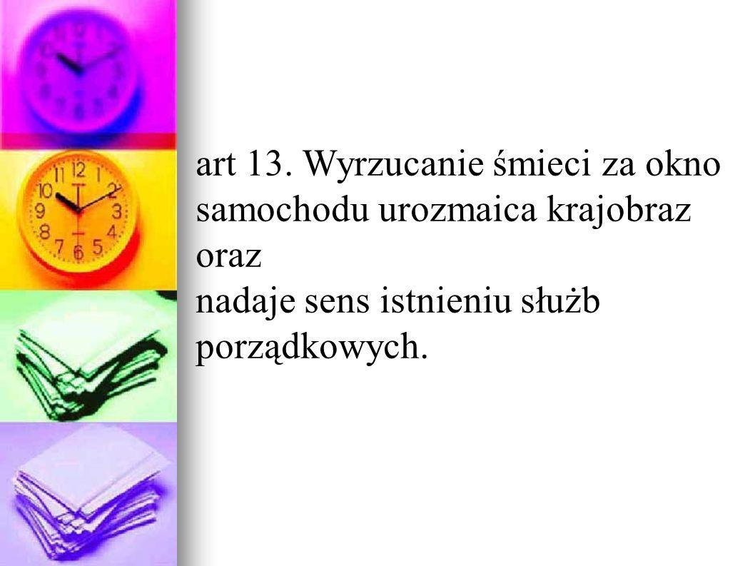 art 13.